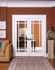 Interior French Doors For Office - 9 lite decorative glass interior door home office