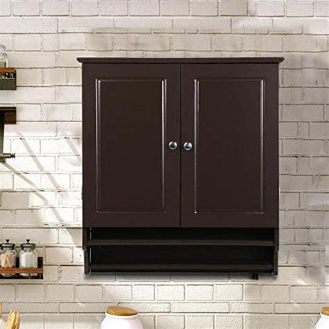 hanging kitchen wall cabinets go2buy wall mounted cabinet kitchen bathroom wooden medicine hanging storage organizer espresso