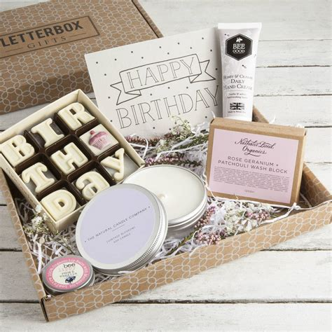 Gift Set the birthday box letterbox gift set by letterbox gifts