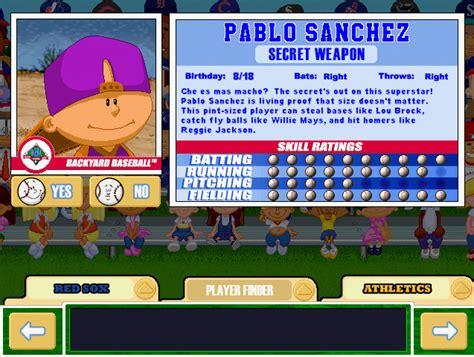 pablo backyard baseball your fondest childhood pc game memories page 4 neogaf