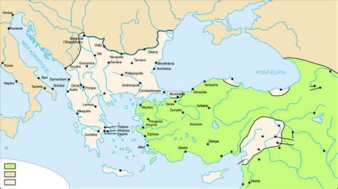 byzantine empire map location of the crusade location of the franks elsavadorla