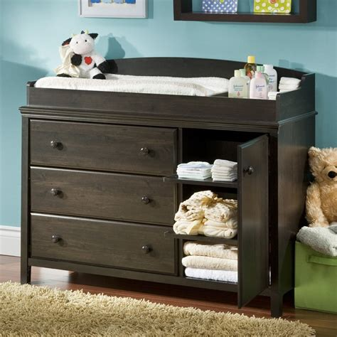 Baby Changing Table South Shore Cotton Changing Table Dresser At Hayneedle
