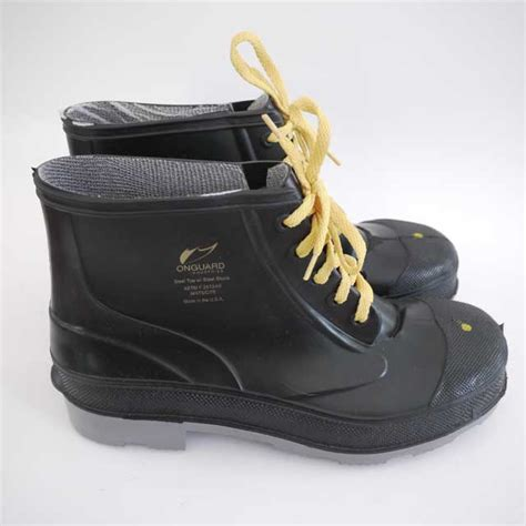 onguard steel toe rubber snow boots mens 12
