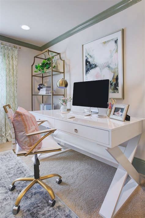 Cutest feminine desks design ideas