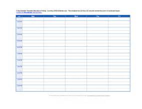 6 week work schedule template best photos of 6 week work schedule template checklist