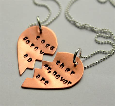 bff necklace best friend necklaces jewelry
