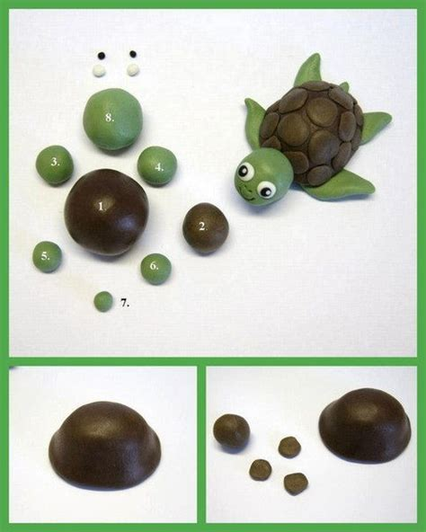 diy polymer clay turtle diy projects usefuldiy
