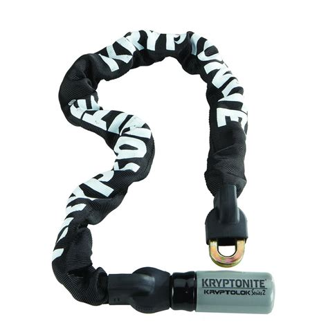 cadenas kryptonite cadena con candado para bicicletas kryptonite kryptolok