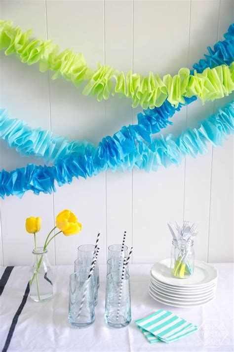 How To Make Paper Bunting Garland - best 25 paper garlands ideas on diy garland