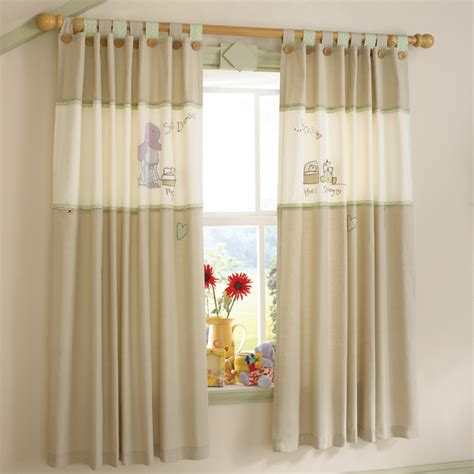 How To Measure Nursery Curtains Little Childrens Curtain Nursery Curtains