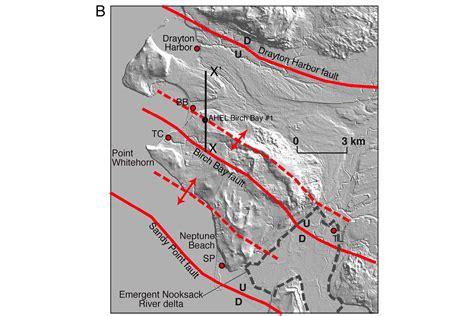 earthquake washington state new earthquake faults found in washington