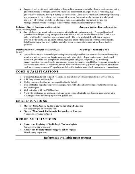 radiography resume lanita lasenberry radiography resume