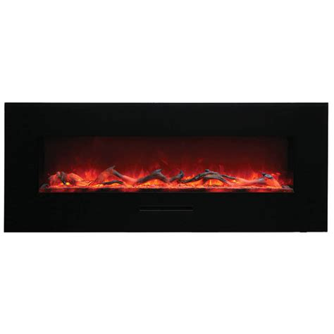 Flush Electric Fireplace by Amantii 48 Quot Wm Fm 48 5823 Bg Wall Mount Flush Mount Electric Fireplace Electric Fireplaces