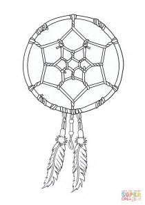 dreamcatcher coloring pages american dreamcatcher coloring page free