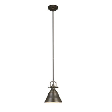 Next Pendant Lights Allen Roth Lighting Zoom In Allen Roth 8 In W Bronze Mini Pendant Light With Metal Shade