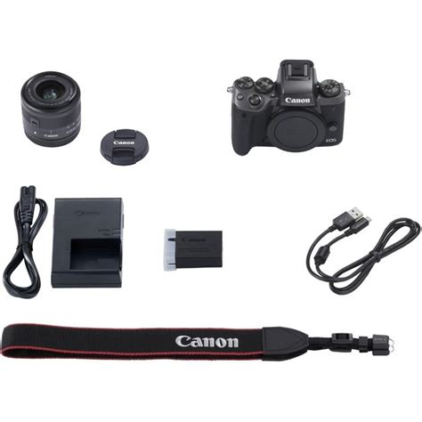 Canon Eos M5 Kit Ef M 15 45mm Is Stm Hitam canon eos m5 mirrorless ef m 15 45mm lens kit