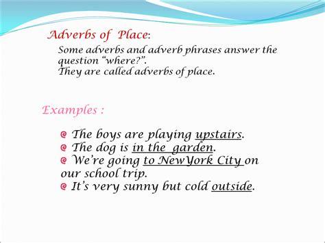 exle of adverb adverbs presentation language sliderbase