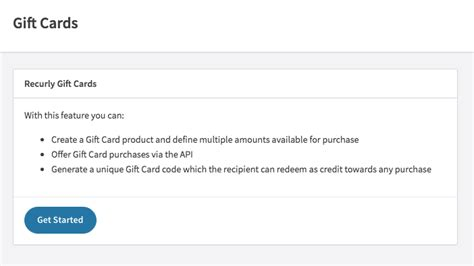 Gift Card Email Template by Recurly Documentation
