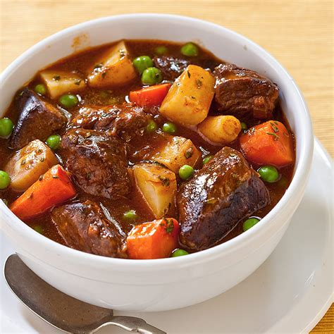 beef stew slow cooker beef stew recipe dishmaps