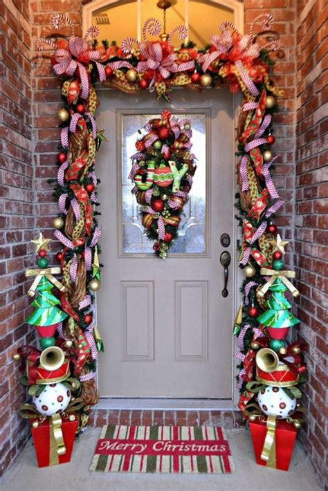 40 front door christmas decorations ideas the xerxes