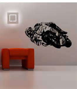 valentino rossi wall art sticker motorcycle racer moto the doctor branch with bird cage vinyl decals stickers