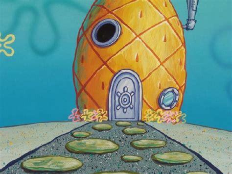spongebob pineapple house spongebob background pineapple house original animation