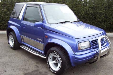how make cars 1996 suzuki sidekick head up display 1996 suzuki vitara 4x4 news reviews msrp ratings with amazing images