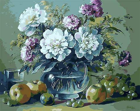 pittori di fiori vaso di fiori pittura acquista a poco prezzo vaso di fiori
