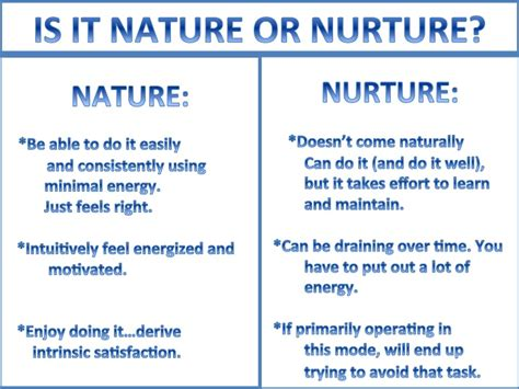 Nurture Vs Nature Essay by Nurture Quotes Quotesgram