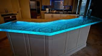 Glass Kitchen Countertops by 30 Lush Glass Countertops For Your Kitchen With Pics To