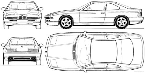 8 Series Sketches by Bmw E31 840i 850i And 850csi Celebrate 25th Anniversary