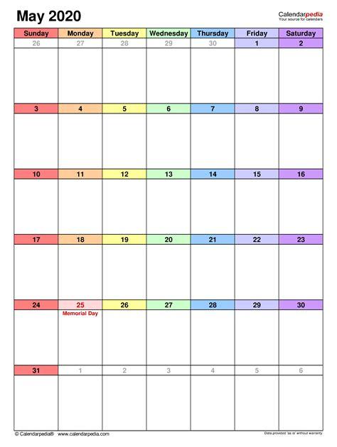 calendar templates  word excel