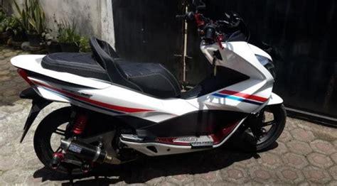 Jok Somjin Vp 4 Honda All New Pcx 150 Led modifikasi berkelas all new honda pcx 150 otomotif
