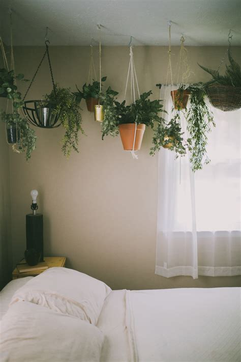 bedroom with plants sincerely kinsey secret garden