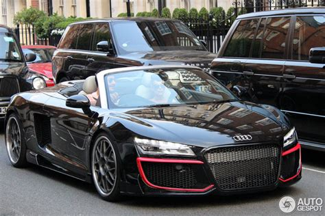Audi R8 V10 Spyder Regula Tuning   14 September 2014