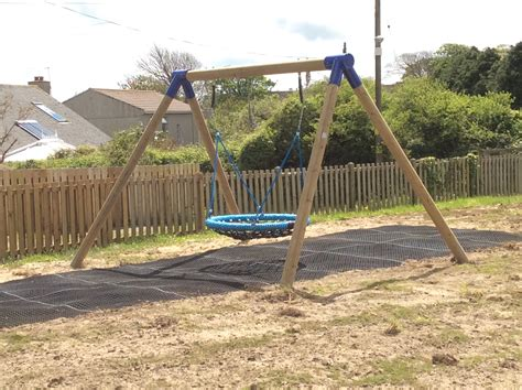 suspension swing timber swing frame 2 point suspension