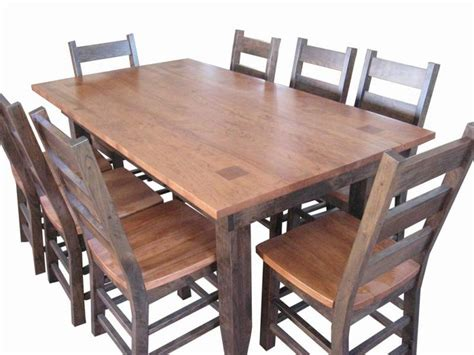 custom amish made dining room table dining room