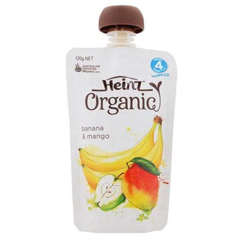 Heinz Breakfast By Yumi Baby Shop buy heinz organic baby food banana mango pouch 120g