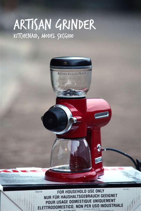 kitchenaid artisan 5kcg100 kitchenaid artisan burr coffee grinder 5kcg100 n the