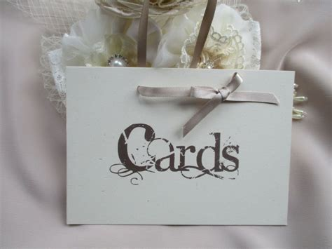 Handmade Cards Stin Up - handmade wedding cards sign vintage style with ribbon hanger