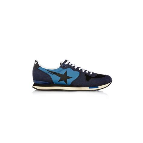 Handmade Running Shoes - golden goose running navy blue handmade shoes