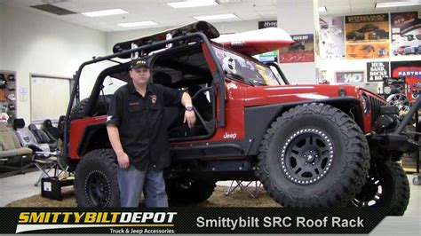 Jeep Wrangler Surfboard Rack by Jeep Wrangler Src Roof Rack By Smittybilt