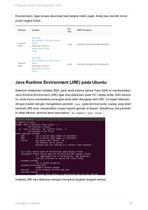 Pemrograman Java 2 Dilengkapi Cd panduan dasar pemrograman tizen