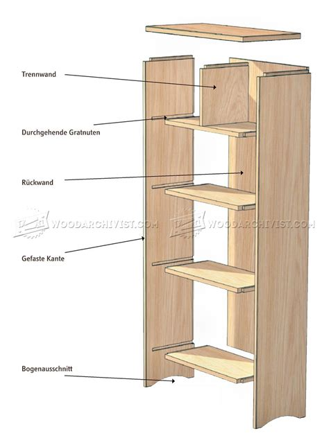 woodworking plans rotating bookshelf with creative exle