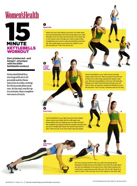 15 minute kettlebells workout for printable