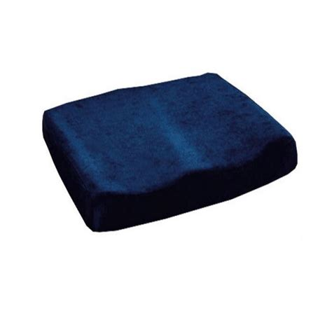 Supply Wedge Pillow by Essential Memory Foam Sculpted Seat Cushion