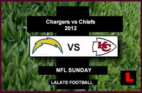 chargers score tonight chargers vs chiefs 2012 philip rivers seeks third win