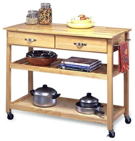 Kitchen Island Table On Wheels Modern Kitchen Cart Utility Table With Locking Casters Wheels Kitchen Islands And Kitchen