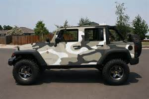 Jeep Camo Wrap Anyone Use Camo Wrap