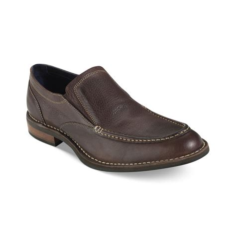 cole haan shoes cole haan centre st slipon shoes in brown for